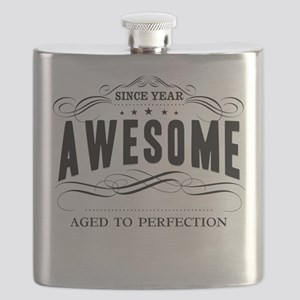 Personalized Birthday Aged To Perfection Flask