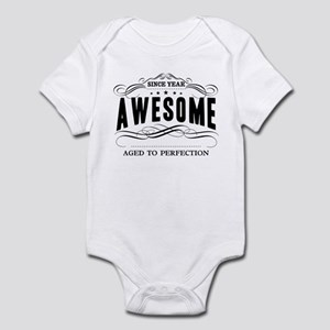 Personalized Birthday Aged To Perf Infant Bodysuit