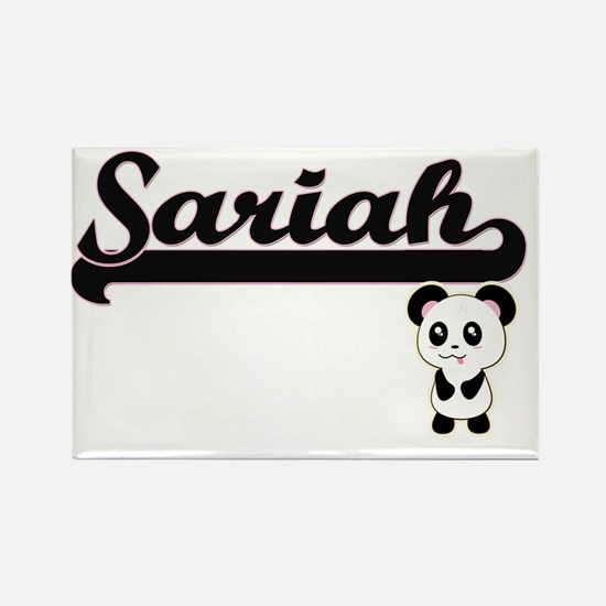 Sariah Classic Retro Name Design with Pand Magnets