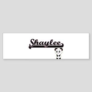 Shaylee Classic Retro Name Design w Bumper Sticker