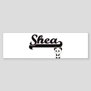 Shea Classic Retro Name Design with Bumper Sticker