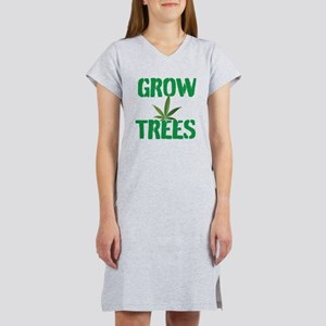 GROW TREES Women's Nightshirt