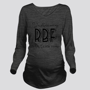 Resting Bitchy Face Long Sleeve Maternity T-Shirt