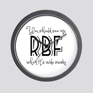 Resting Bitchy Face Wall Clock