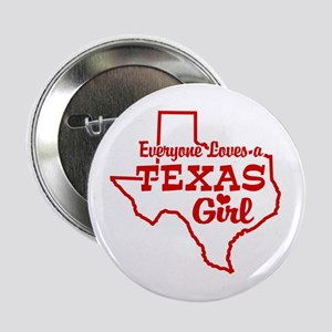 Texas Girl Button
