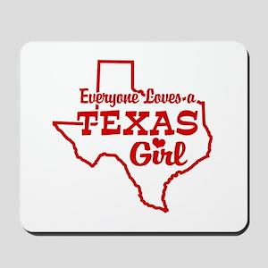 Texas Girl Mousepad