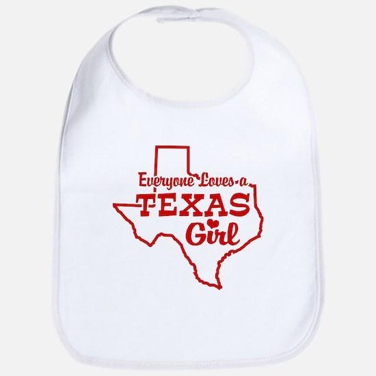 Texas Girl Bib