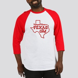 Texas Girl Baseball Jersey