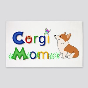 Corgi Mom Area Rug