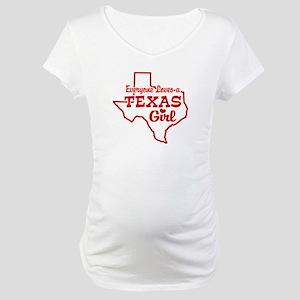 Texas Girl Maternity T-Shirt