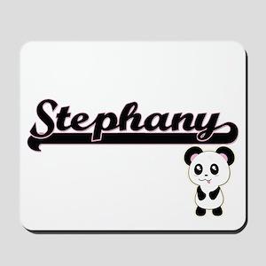 Stephany Classic Retro Name Design with Mousepad