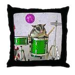 Drums Throw Pillow