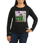 Drums Women's Long Sleeve Dark T-Shirt