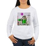 Drums Women's Long Sleeve T-Shirt