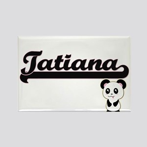 Tatiana Classic Retro Name Design with Pan Magnets