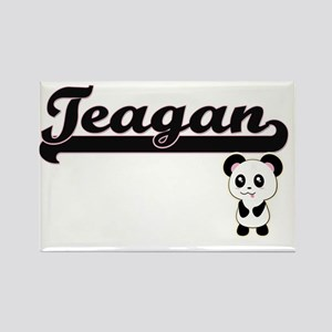 Teagan Classic Retro Name Design with Pand Magnets