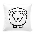 Sheep Everyday Pillow