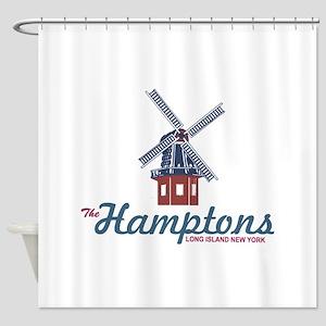 The Hamptons - Long Island. Shower Curtain