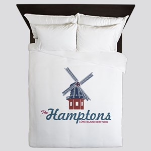 The Hamptons - Long Island. Queen Duvet