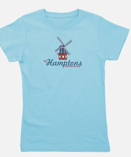 The Hamptons - Long Island. Girl's Tee