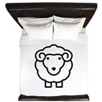 Sheep King Duvet