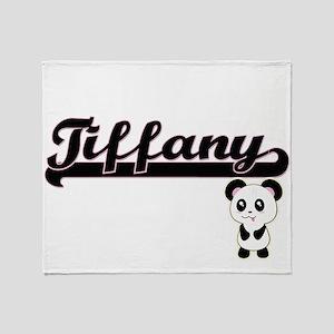 Tiffany Classic Retro Name Design wi Throw Blanket