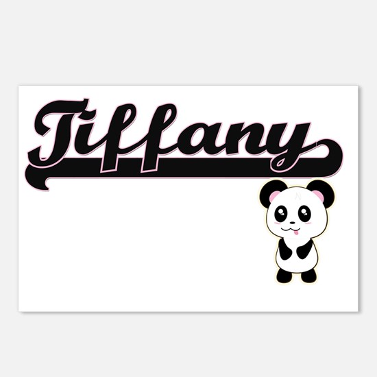 Tiffany Classic Retro Nam Postcards (Package of 8)