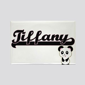 Tiffany Classic Retro Name Design with Pan Magnets