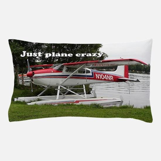 Just plane crazy: Cessna float plane, Pillow Case