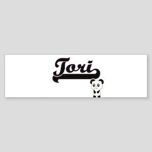 Tori Classic Retro Name Design with Bumper Sticker