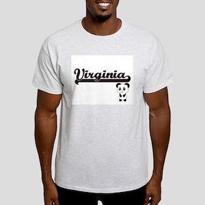 Virginia Classic Retro Name Design with Pa T-Shirt