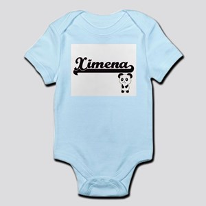 Ximena Classic Retro Name Design with Pa Body Suit