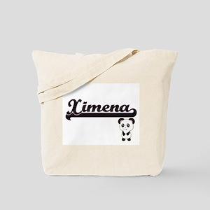 Ximena Classic Retro Name Design with Pan Tote Bag