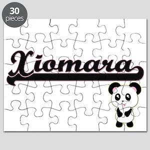 Xiomara Classic Retro Name Design with Pand Puzzle