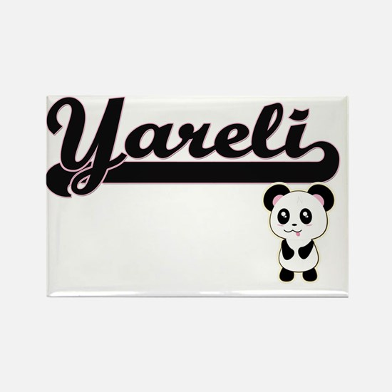 Yareli Classic Retro Name Design with Pand Magnets