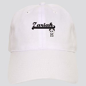 Zariah Classic Retro Name Design with Panda Cap