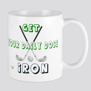 GOLF - GET YOUR DAILY DOSE OF IRON Mug