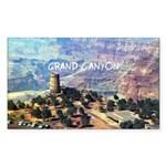 Grand Canyon Sticker (Rectangle)