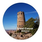 Grand Canyon Round Car Magnet