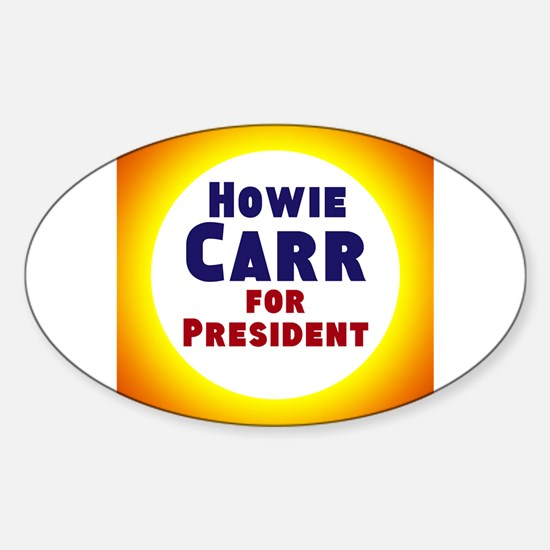 Howie Carr Decal