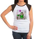 Drums Women's Cap Sleeve T-Shirt