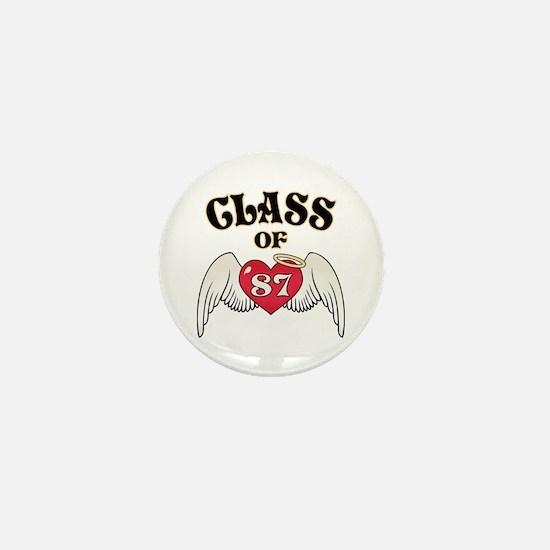 Class of '87 Mini Button