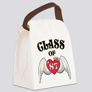 Class of '87 Canvas Lunch Bag