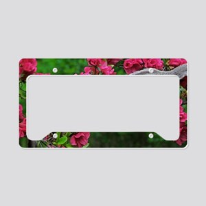 Flowers #13 Part 2 License Plate Holder