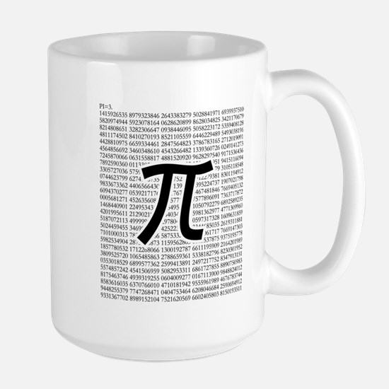 pi: circumference ratio: mathematics Mugs