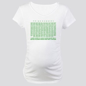 prime numbers: mathematics Maternity T-Shirt