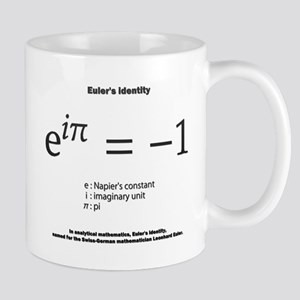 Euler's identity: mathematics Mugs