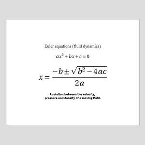 quadratic formula: Euler: mathematics Posters