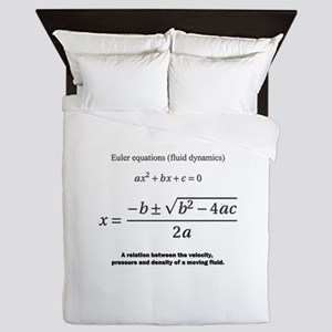 quadratic formula: Euler: mathematics Queen Duvet