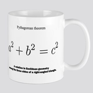 Pythagorean theorem: mathematics Mugs